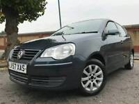 VOLKSWAGEN POLO 1.4 (2008) ***FULL SERVICE HISTORY - 5 DOORS - QUICK SALE OFFER*** LONG TAX/MOT
