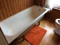 Victorian Cast iron bath