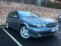 JAGUAR X-TYPE 2.2 DIESEL ESTATE, LOW MILEAGE (not Mondeo, v50, passat,octavia,a4)