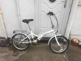 Folding bike as new condition