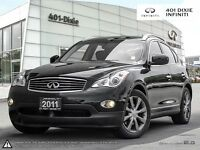 2011 Infiniti EX35 OFF-LEASE! ACCIDENT FREE!