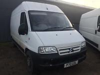 Bargain long wheel base Citroen relay 2.2 hdi long MOT no advisories, ready for work
