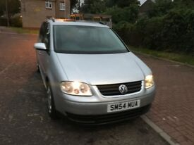 2004 Volkswagen Touran 2.0 TDI SE MPV 5dr (7 Seats) Manual @07445775115