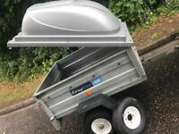 Easyline trailer + Abs hardtop/spare wheel