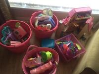 LPS toys & doll house BARGAIN