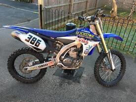 Yamaha yzf450 2012