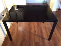 Habitat Rio Dining Table - Glass Kitchen Table