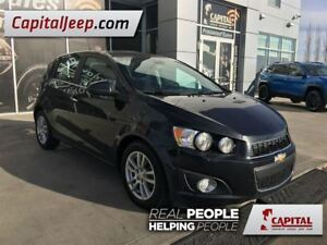 2013 Chevrolet Sonic LT  Cloth  Remote Start  AUX  Sunroof