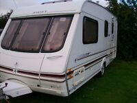 swift challenger 4 berth end shower dressing room alloys new awning must be seen