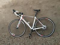 As new 1 Year Old Giant Defy 3 racer bike