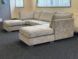 U SHAPED SOFA AVAILABLE IN AFFORDABLE PRICE HIGH BACK CUSHIONS