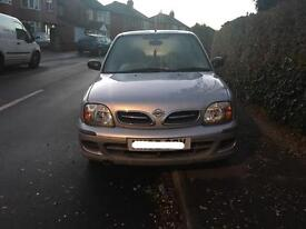 2002 NISSAN MICRA VIBE 1.0 PETROL IN SILVER LOW MILEAGE ONO