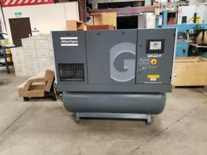 Atlas Copco 30HP screw compressor with dryer