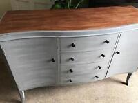 Refurbished Antique Solid Mahogany Dresser/Sideboard (Can Deliver)