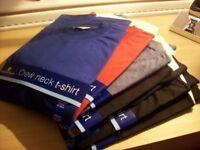 Men's T-Shirts Size Medium 38-40 inch chest Brand New x 6