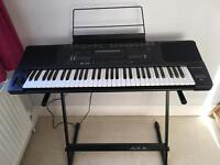Technics SX-KN1200 keyboard with stand and cover