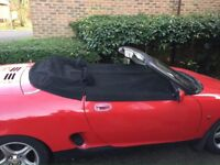 MGF / MGTF Full Length Tonneau Cover