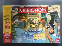 City ville monopoly board