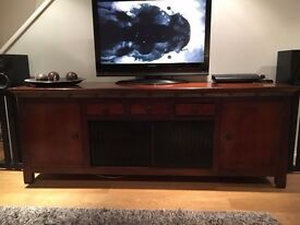 STUNNING SPECTACULAR CLASSIC ROCHE BOBOIS PARIS LARGE SOLID WALNUT STORAGE SIDEBOARD COST 6000 ....