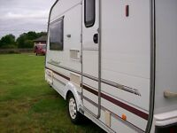 swift capuccino 2berth 2002 800kg full new awning new tyres