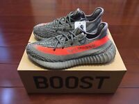 adidas Yeezy Boost 350 V2 Beluga Solar Red by Kanye West