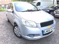 09 chevrolet Aveo - face life model - 8 months mot - 5 door - 1.2 petrol - 1 former keeper