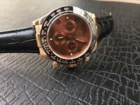 Rolex Daytona Swiss ETA Rose Gold