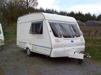 Bailey Ranger 2000 2 berth caravan with awning