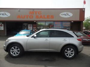 2005 Infiniti FX35 LEATHER, SUNROOF, AWD