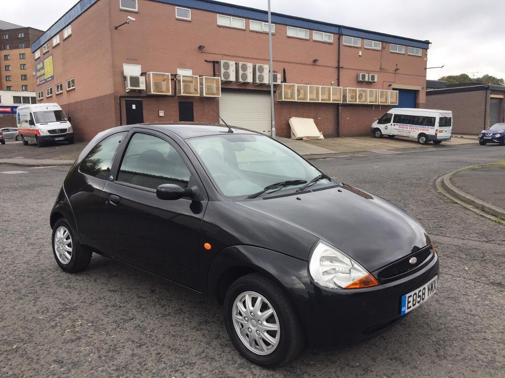 Ford KA 1.3 Zetec Climate 3dr black, long mot ,very clean drive perfect