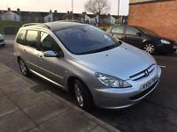 PEUGEOT 307 SW 2.0 HDI DIESEL FULL SERVICE HISTORY