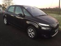 2014 CITROEN C4 PICASSO VTR + 1.6 HDI only 41000 MILES