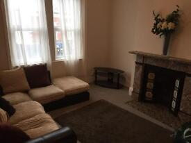 4 bed maisonette flat furnished Gateshead