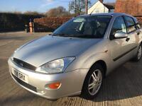 2001 Ford Focus 1.6 Zetec**14 Service Stamps**New Mot**Very well Maintained **