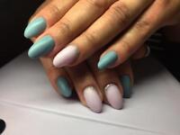 Manicure/pedicure shellac, gel extension