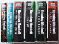 Kurt Wallander unabridged cassettes.
