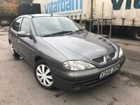 2000 plate - Renault megane petrol - One year mot - part service history - clean example