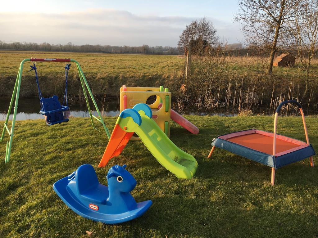 childrens little tikes toys swing slide cube rocker trampoline
