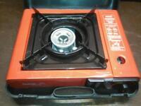 Portable gas cooker