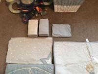 Mamas an papas cot bed set