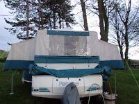 Pennine Fiesta Folding Camper Trailer Tent (Bertha) - 4 berth / Awning + extras