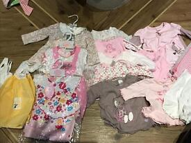 Girls clothing bundle 3-6 months