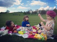 Part-time nanny with a cherry disposition to look after 3 funny & kind girls -Hampstead North London