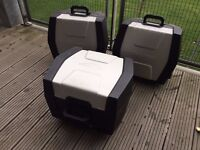 Triumph Tiger 800 Panniers And Top Box - Completely Original