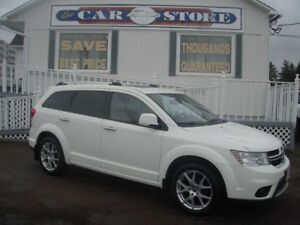 2011 Dodge Journey R/T AWD 7 PASS SUNROOF HTD LTHR NAV