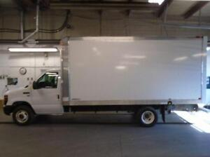2014 Ford E-450 Cube Van 16 ft