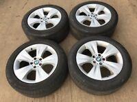 "BMW X5 19"" Alloy Wheels - Excellent Pirelli tyres"