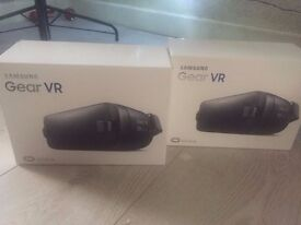 Samsung Gear Oculus Virtual Reality headsets