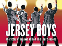 2 JERSEY BOYS TICKETS THEATRE ROYAL PLYMOUTH 2ND ROW !!!