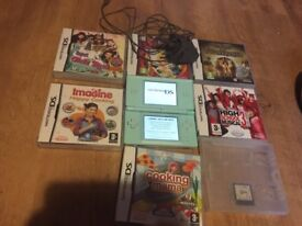 Ds lite and 7 games & 3d virtually reality headset
